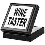 Wine Taster Keepsake Box