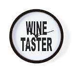 Wine Taster Wall Clock