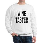 Wine Taster (Front) Sweatshirt