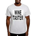 Wine Taster (Front) Light T-Shirt