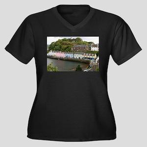 Portree, Isle of Skye, Scotland Plus Size T-Shirt