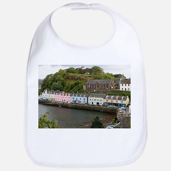 Portree, Isle of Skye, Scotland Baby Bib