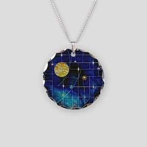 Harvest Moons Solar System Necklace