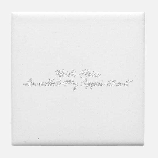 Heidi Fleiss Tile Coaster