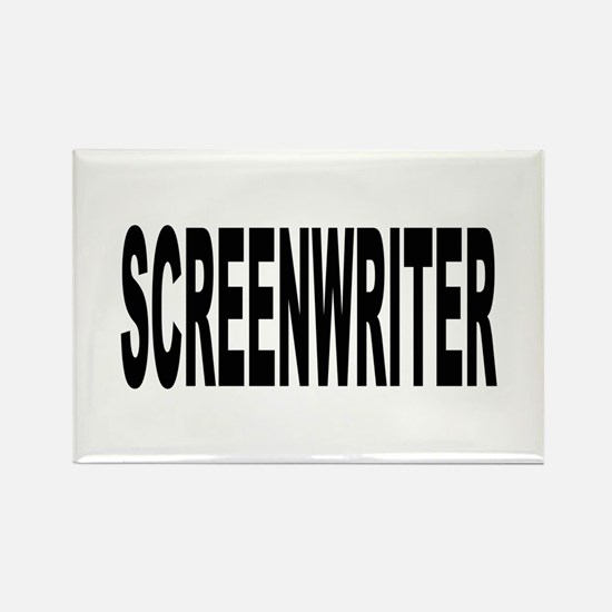 Screenwriter Rectangle Magnet