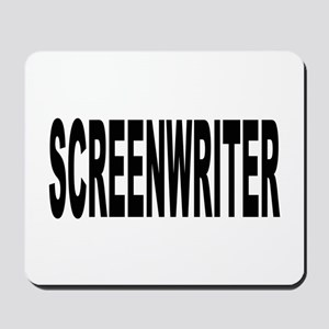 Screenwriter Mousepad