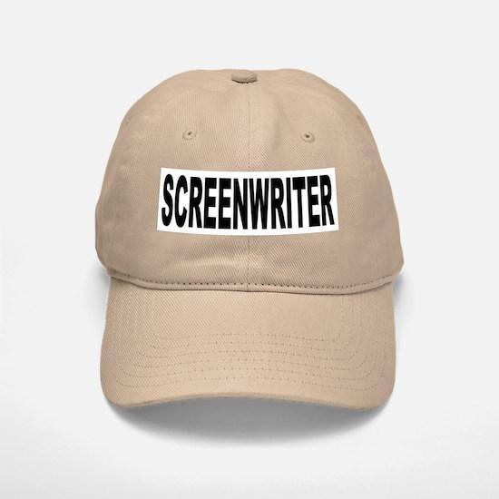 Screenwriter Baseball Baseball Cap