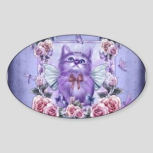 Fairy Princess Cat Sticker