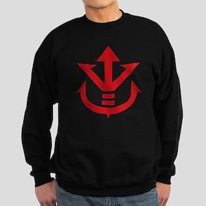super saiyan vegeta crest symbol Sweatshirt