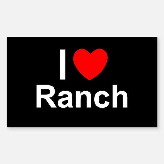 Ranch Sticker (Rectangle)