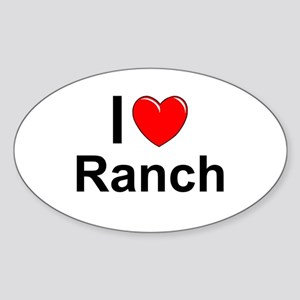 Ranch Sticker (Oval)