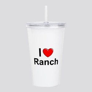 Ranch Acrylic Double-wall Tumbler