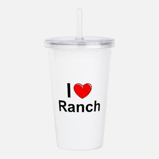 Ranch Acrylic Double-wall Tumbler