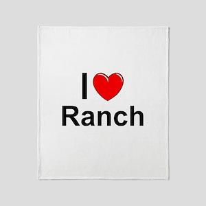 Ranch Throw Blanket