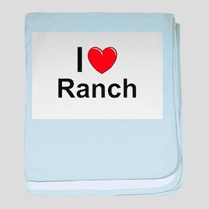 Ranch baby blanket