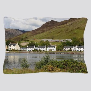 Dornie, Loch Long, Scotland Pillow Case