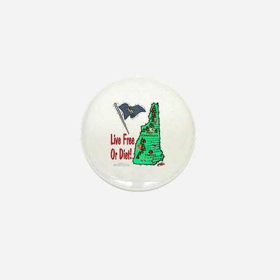 NH-Diet! Mini Button