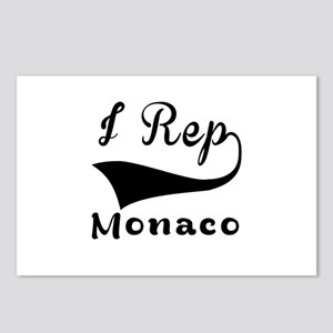 I Rep Monaco Postcards (Package of 8)