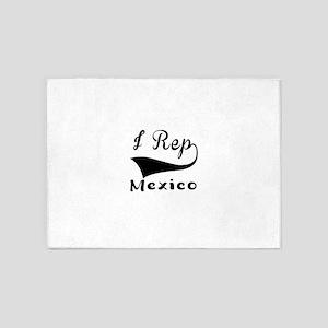 I Rep Mexico 5'x7'Area Rug