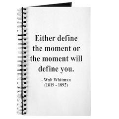 Walter Whitman 2 Journal