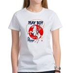 Play Boy Flour Women's T-Shirt