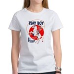 Play Boy Flour Women's T-Shirt