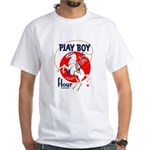 Play Boy Flour White T-Shirt