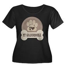 Goldendoodle Dog lover Plus Size T-Shirt