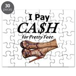Cash for Pretty Feet Puzzle
