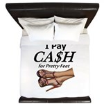 Cash For Pretty Feet King Duvet