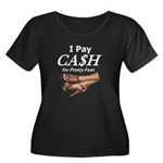 Cash for Pretty Feet Plus Size T-Shirt