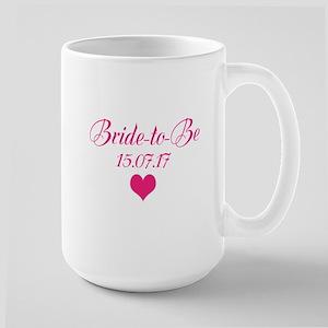 Bride to Be Wedding Date Mugs