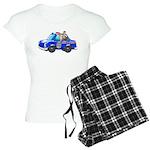 Foot Patrol Car Women's Light Pajamas