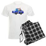 Foot Patrol Car Men's Light Pajamas