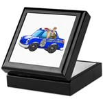 Foot Patrol Car Keepsake Box