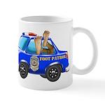 Foot Patrol Car 11 oz Ceramic Mug