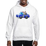 Foot Patrol Car Hooded Sweatshirt