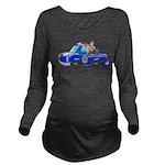 Foot Patrol Car Long Sleeve Maternity T-Shirt