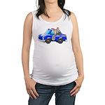 Foot Patrol Car Maternity Tank Top