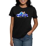Foot Patrol Car Women's Dark T-Shirt
