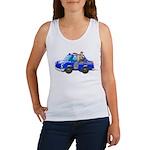Foot Patrol Car Women's Tank Top