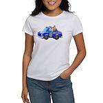 Foot Patrol Car Women's Classic White T-Shirt
