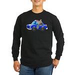 Foot Patrol Car Long Sleeve Dark T-Shirt
