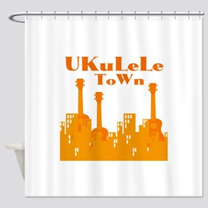 Ukulele Uke Shower Curtain