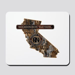 CALIFORNIA RIG UP CAMO Mousepad