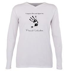 Plus Size Long Sleeve Tee T-Shirt