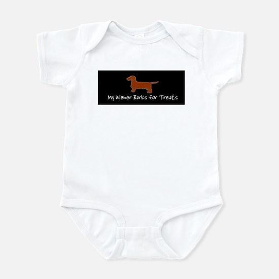Wiener Barks Infant Bodysuit