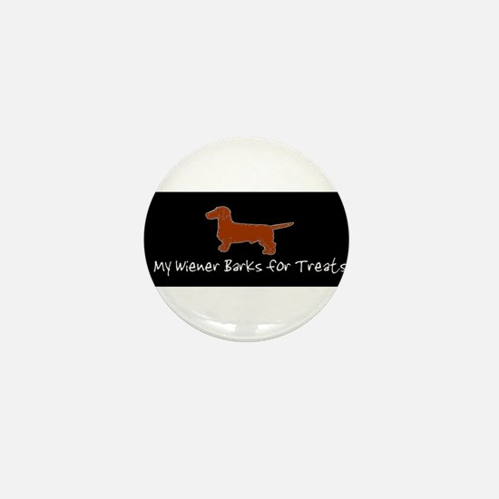 Wiener Barks Mini Button (100 pack)