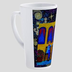 GOGH TWINS 17 oz Latte Mug