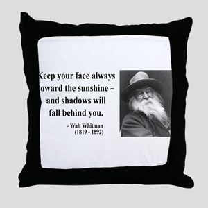 Walter Whitman 3 Throw Pillow